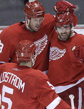 Maybe it's time to quit calling Nicklas Lidstrom and the Red Wings old. (AP)