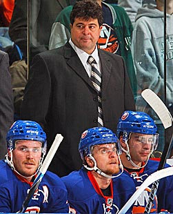 The Islanders have tried a coaching change, but Jack Capuano hasn't stemmed the tide. (Getty Images)