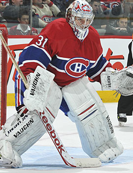 With 17 wins and a .936 GAA, it sure looks like Montreal made the right decision with Carey Price. (Getty Images)