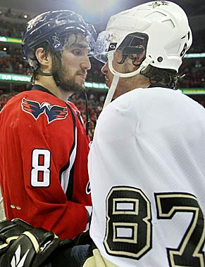 Ovechkin and Crosby have dominated the No. 1 player debate in recent years. (Getty Images)
