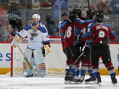 Brandon Yip celebrates his second of two goals in front of a dejected Jaroslav Halak.  (Getty Images)