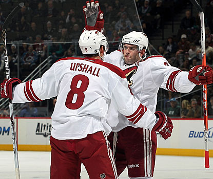 Keith Yandle's eighth goal and 36th assist makes him the top scorer in the league among defensemen. (Getty Images)