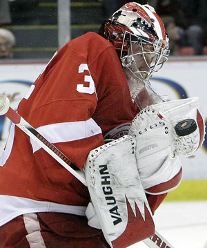 Jimmy Howard has allowed only six goals in his past four starts. (AP)