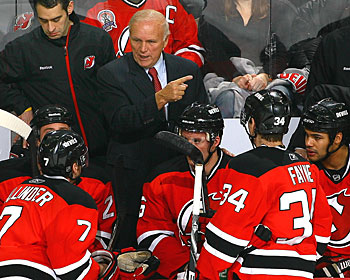 New Jersey was 27 points out of a playoff position and last in the standings in early January. (Getty Images)