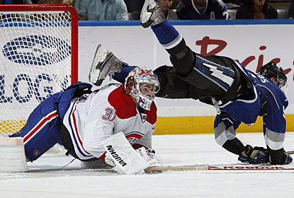 Carey Price stops 113 of 116 shots faced in a three-game road sweep of Atlanta, Florida and Tampa Bay. (Getty Images)
