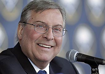 New owner Terry Pegula has changed the tone -- and the results -- in Buffalo. (AP)