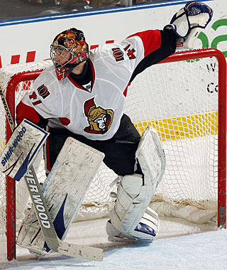 Craig Anderson enjoys the change of scenery and likes it Ottawa. (Getty Images)
