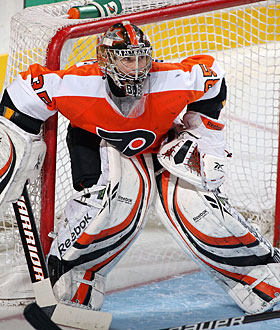 Even though he struggled in the last few games, Sergei Bobrovsky gets the call for the Flyers. (Getty Images)