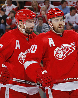 Grade A: Players like Pavel Datsyuk and Henrik Zetterberg make sure the Wings are never out of it. (Getty Images)