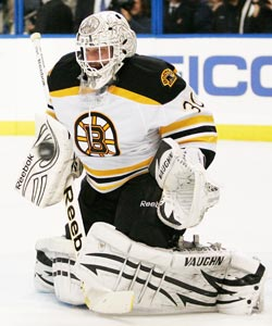 Tim Thomas is Boston's best defense against Vancouver's high-powered offense. (Getty Images)