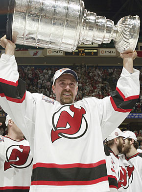 Joe Nieuwendyk won his third Stanley Cup while with the New Jersey Devils. (Getty Images)