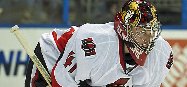 Craig Anderson and the Senators might be looking at a very long season ahead. (US Presswire)