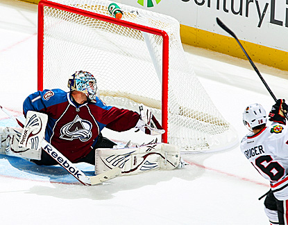 Semyon Varlamov turns away 34 shots through overtime and also stops three players in the shootout. (Getty Images)