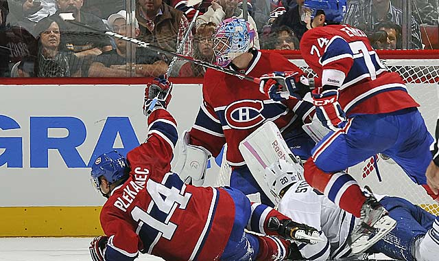 Carey Price must be looking forward to the return of his top defenders. (Getty Images)