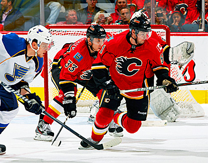 Roman Horak (51), a 20-year-old rookie, records two points for the second straight game. (Getty Images)