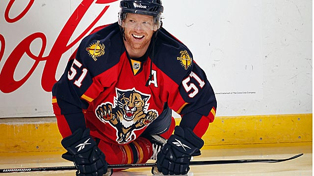 Brian Campbell has quickly helped transform the perpetually rebuilding Panthers. (Getty Images)