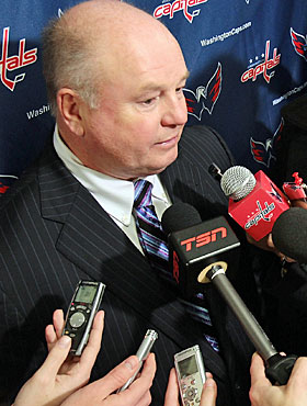 Bruce Boudreau is unemployed for only two days. (Getty Images)