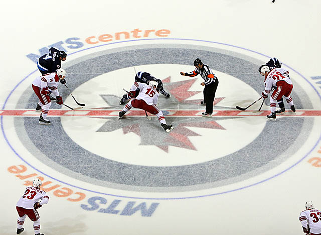 Playing in the MTS Centre in Winnipeg, the Jets remain in the Eastern Conference. (Getty Images)