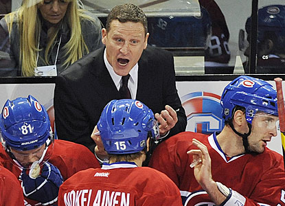 No good fortune for Randy Cunneyworth, who ends up on the wrong end in his debut as interim coach in Montreal. (AP)