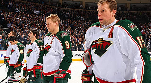 The Wild have scored just seven goals during their six-game skid heading into Monday. (Getty Images)