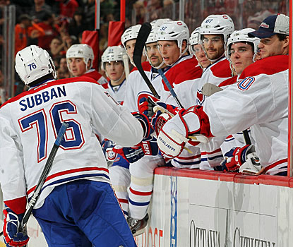 It takes the Canadiens five games, but they finally reward interim coach Randy Cunneyworth with a win. (Getty Images)