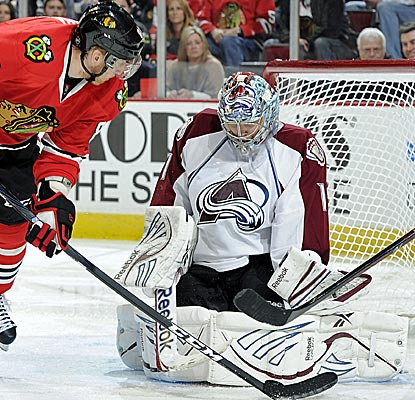Steady goaltending by Semyon Varlamov  has Colorado rising up the Western Conference standings. (Getty Images)