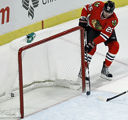 Viktor Stalberg has an easy formality, scoring an empty-net goal for his first career three-goal game in the NHL. (AP)