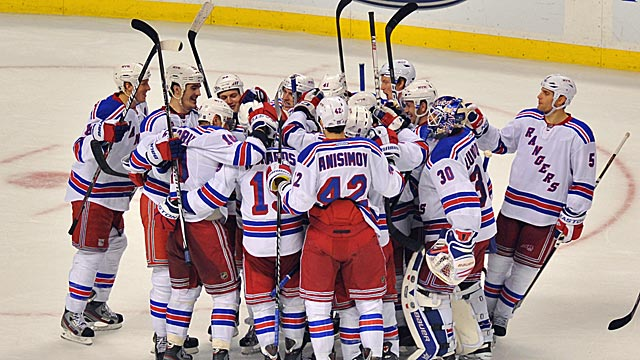 The Rangers might be the NHL's best team and appear poised for a deep playoff run. (Getty Images)