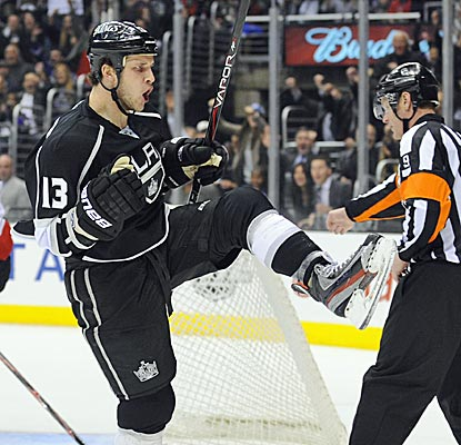 Kyle Clifford scores a goal and adds an assist as the Kings head into the All-Star break on a good note.  (AP)