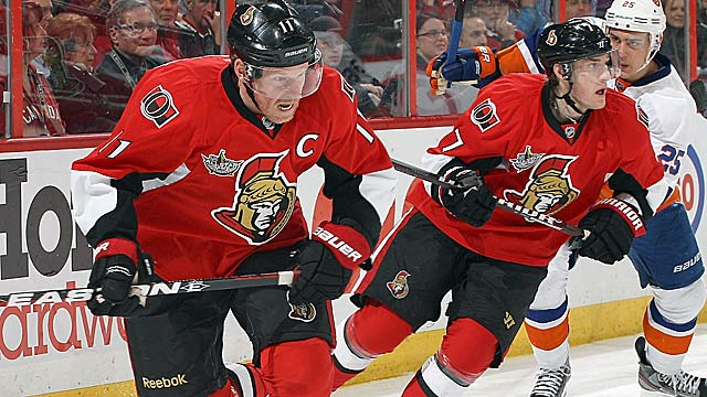 Daniel Alfredsson and the Sens try to keep their season in 'pleasant surprise' territory. (Getty Images)