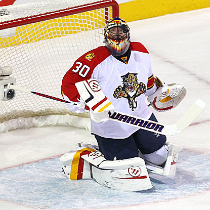 Scott Clemmensen stops 27 of 29 shots and all three he faces in the shootout as the Panthers defeat the Canadiens.  (US Presswire)