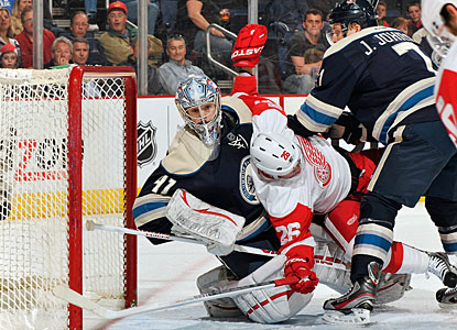 Blue Jackets 4, Red Wings 2