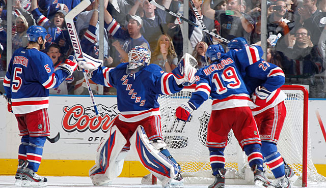 Six of Lundqvist's eight playoff wins this postseason have been by one goal. (Getty Images)