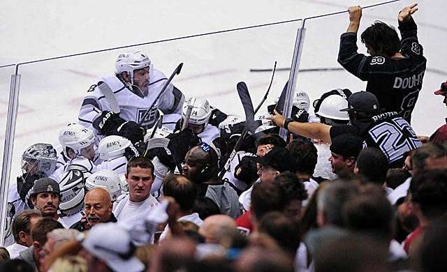 It has taken decades to build in sunny L.A., but the Kings finally have a 'rabid' fan base. (US Presswire)
