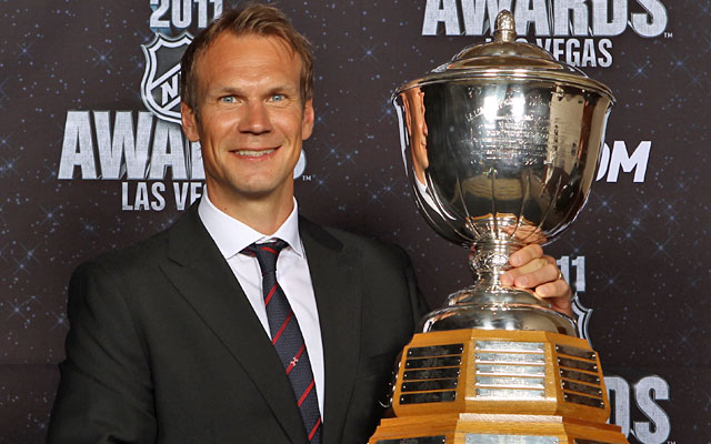 Nicklas Lidstrom won his seventh Norris Trophy last year, one behind all-time leader Bobby Orr. (Getty Images)