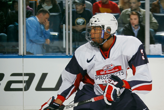 Seth Jones has the potential to be a game-changer for the NHL. (Getty)
