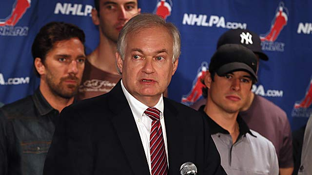Union head Donald Fehr feels the sides are closer on the structure of a deal than suggested. (Getty Images)