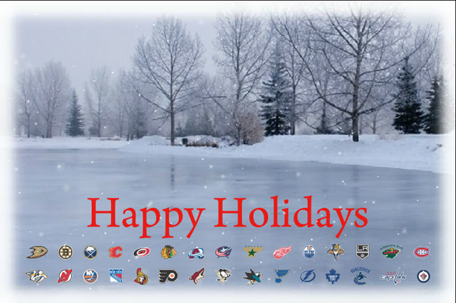 Image result for Happy hockey holidays