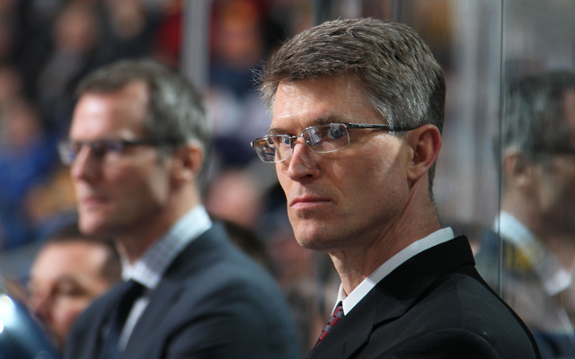 Ron Rolston is trying to turn around the Buffalo Sabres in a short season.(Getty Images)