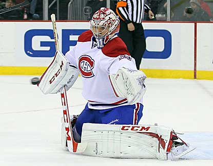 Montreal goalie Carey Price makes 32 saves as the Canadiens skate past New Jersey in the third period. (USATSI)