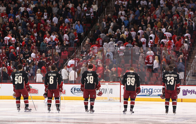 A relocation decision on the Phoenix Coyotes could reportedly come before the playoffs. (Getty Images)