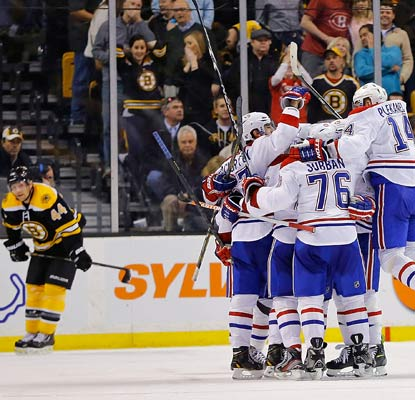 The Canadiens keep rallying and eventually edge the Bruins in the shootout to take second in the Eastern Conference.  (Getty Images)