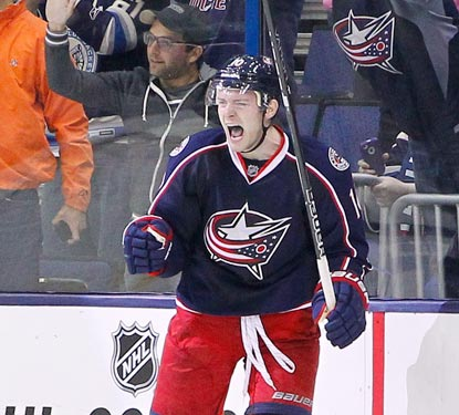 Mark Letestu's first winning goal as a Blue Jacket wraps up Columbus' best month in franchise history (10-2-4).  (USATSI)