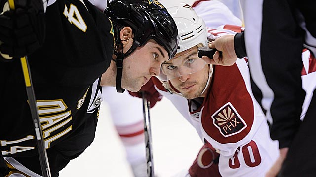 The Coyotes and Stars are helping to make the Pacific exceptionally deep. (USATSI)