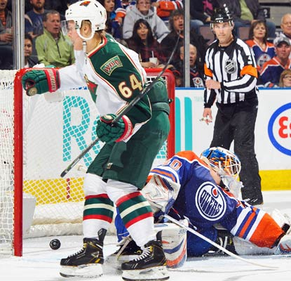 Mikael Granlund contributes to the Wild scoring effort. Minnesota is in the sixth spot in the Western Conference.  (Getty Images)