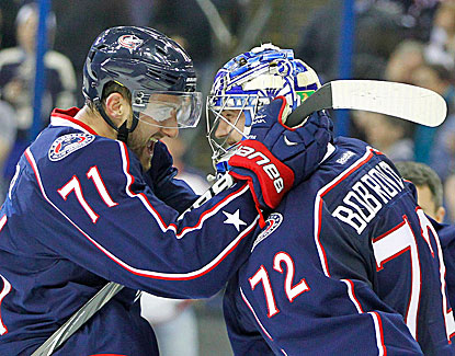 Goalie Sergei Bobrovsky is a big part of Columbus' turnaround, but the Blue Jackets fall short of the postseason. (USATSI)