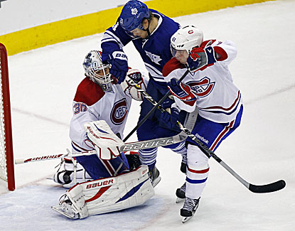 Montreal backup Peter Budaj gets the start in net as the Canadiens cruise past Toronto in the finale. (USATSI)