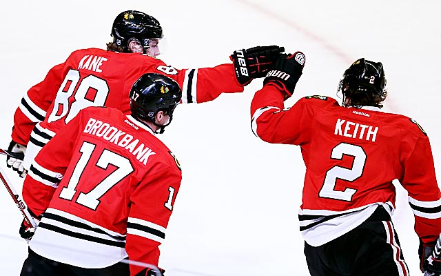 The Blackhawks have dominated the stat sheets and the standings. (Getty Images)