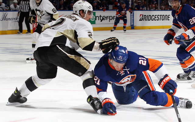The Pittsburgh Penguins did just enough to eliminate Kyle Okposo and the New York Islanders. (USATSI)