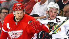 Red Wings clip Hawks